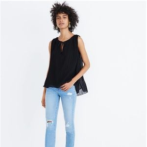 Madewell Pleated Tank Top (Medium)